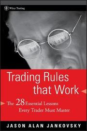 Trading Rules that Work by Jason Alan Jankovsky image