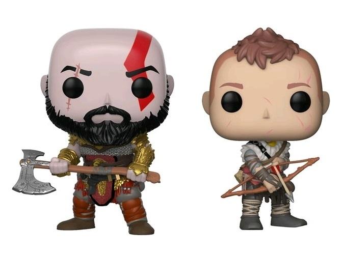 God of War: Kratos & Atreus - Pop! Vinyl 2-Pack image
