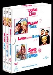 Doris Day Collection: Lover Come Back. Pillow Talk, Send Me No Flowers on DVD