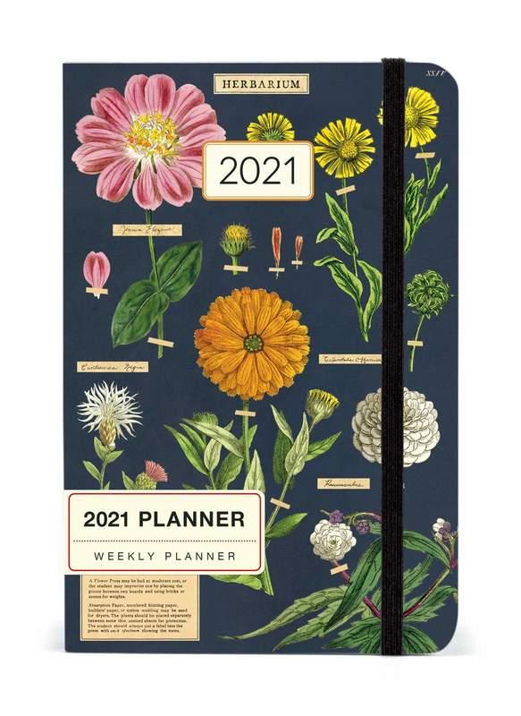 Cavallini 2021 Weekly Planner - Herb