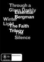 Essential Bergman - The Faith Trilogy (3 Disc Box Set) on DVD