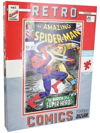 Hinkler: Retro Spider-Man Puzzle - 1000pc