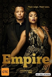 Empire - Season 3 (5 Disc Set) on DVD