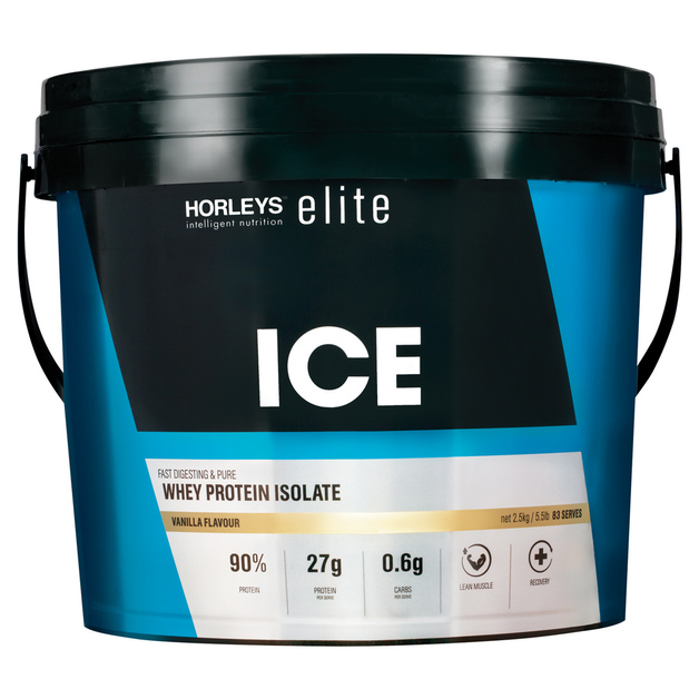 Horleys ICE Whey Protein Isolate - Vanilla (2.5kg)