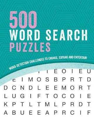 500 Word Search Puzzles by Parragon Books Ltd