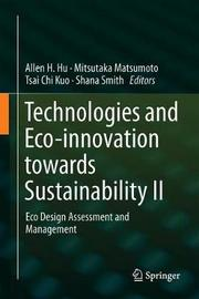 Technologies and Eco-innovation towards Sustainability II image