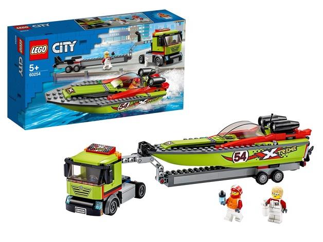 LEGO City: Racing Boat Transporter - (60254)