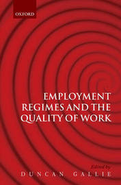 Employment Regimes and the Quality of Work image