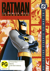 Batman - The Animated Series: Complete Season 1 Volume 1 (4 Disc Set) on DVD image