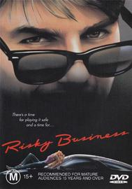 Risky Business on DVD image