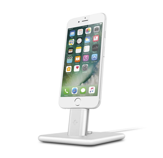 Twelve South HiRise Deluxe 2 for iPhone/iPad (Silver)