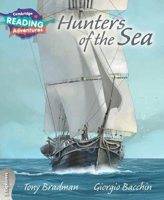 Hunters of the Sea 3 Explorers by Tony Bradman