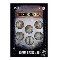 Necromunda: 25mm Bases