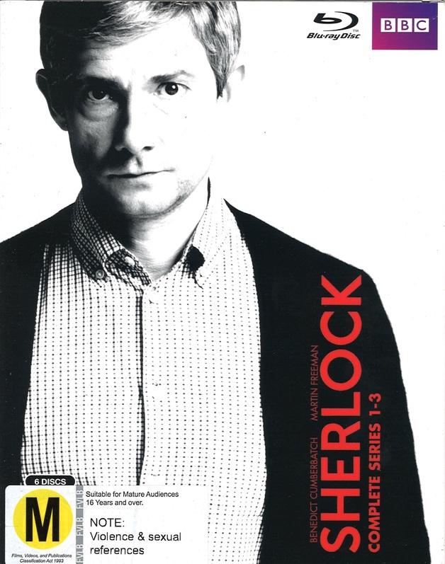 Sherlock: Series 1-3 Box Set on Blu-ray
