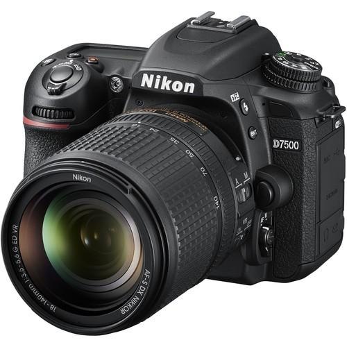 Nikon D7500 Camera with 18-140 Lens