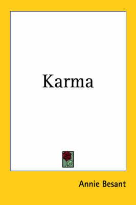Karma by Annie Besant image