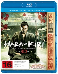 Hara-Kiri: Death of a Samurai on Blu-ray, 3D Blu-ray