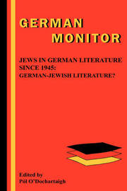 Jews in German Literature since 1945