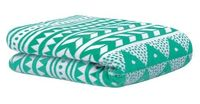 Bambury Nolita Ultraplush Throw Rug (Lagoon)