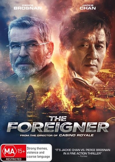 The Foreigner on DVD image
