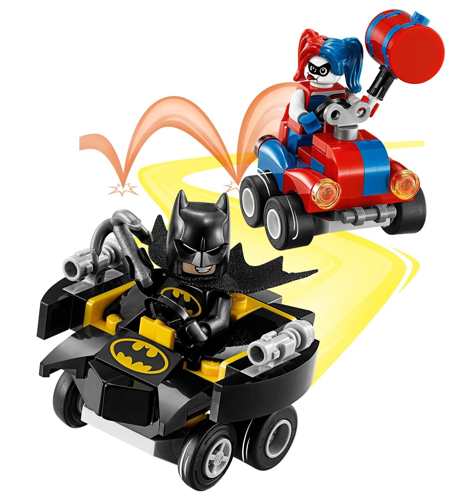 LEGO Super Heroes: Mighty Micros - Batman vs. Harley Quinn (76092) image
