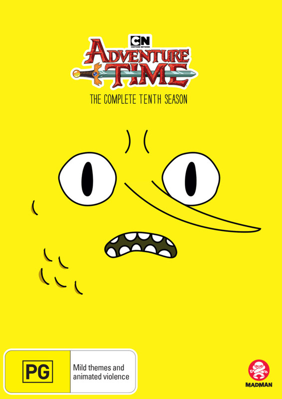 Adventure Time - The Complete Tenth Season on DVD