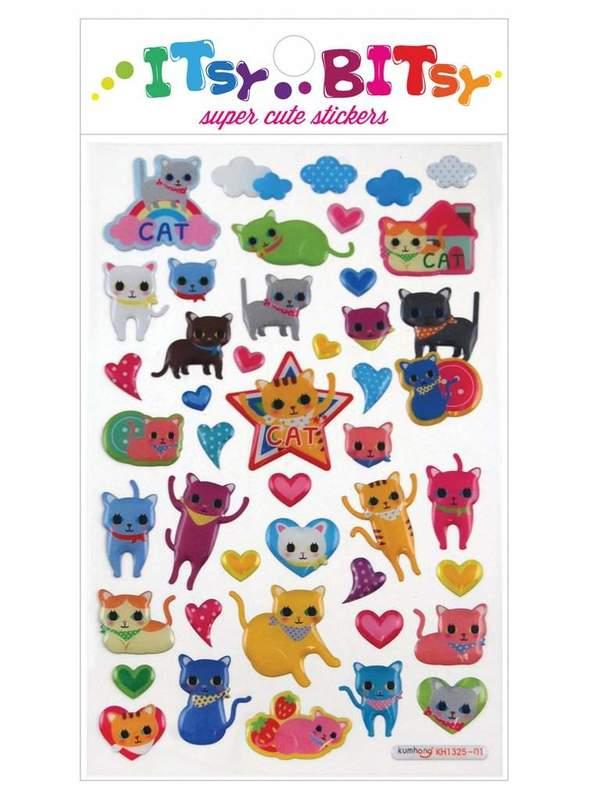 Ooly: Sticker Sheet - Cat Eyes