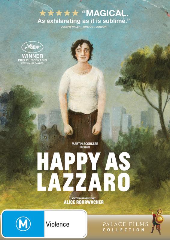 Happy As Lazzaro on DVD