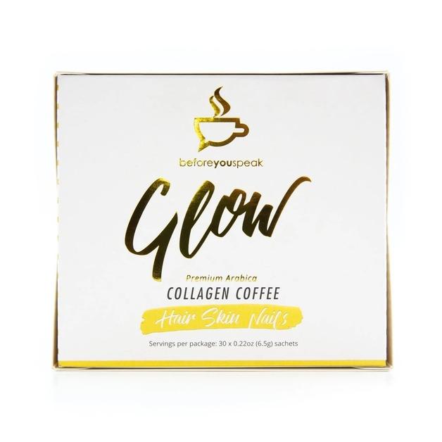 Before You Speak: Glow Collagen Coffee - Original (30 x 6.5g)