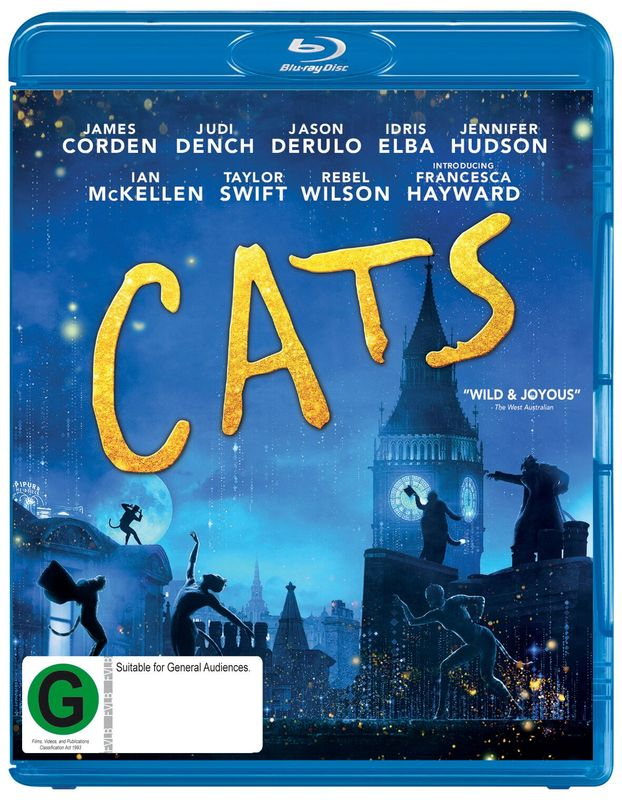 Cats (2019) on Blu-ray