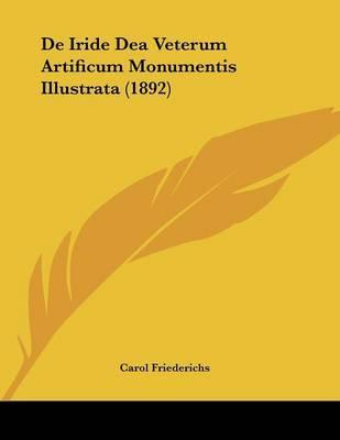 de Iride Dea Veterum Artificum Monumentis Illustrata (1892) by Carol Friederichs image