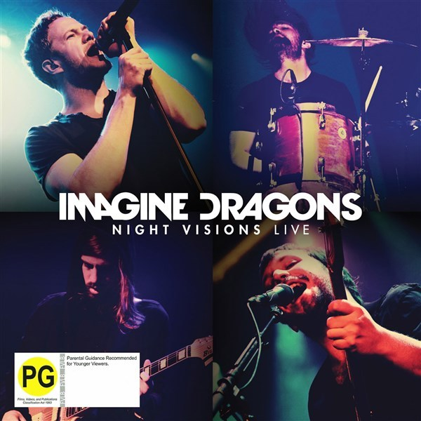 Night Visions Live (CD/DVD) by Imagine Dragons