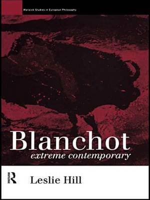 Blanchot by Leslie Hill image