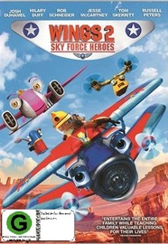 Wings 2: Sky Force Heroes on DVD