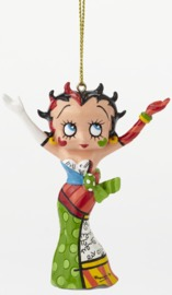 Betty Boop Ornament - Hands In The Air