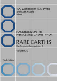 Handbook on the Physics and Chemistry of Rare Earths: Volume 30