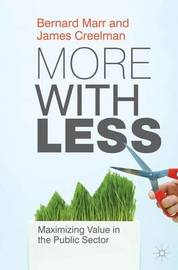 More with Less by Bernard W. Marr