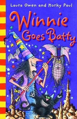 Winnie Goes Batty by Laura Owen image