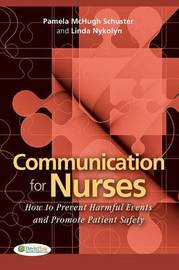 Communication for Nurses by Pamela McHugh Schuster image