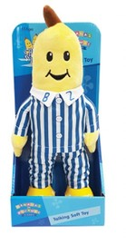 Bananas in Pajamas Classic Talking Plush 30cm - B1