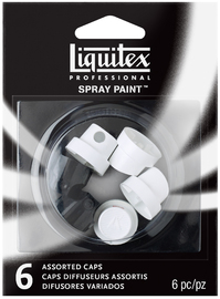Liquitex: Acrylic Spray Assorted Nozzle (Pack x 6)