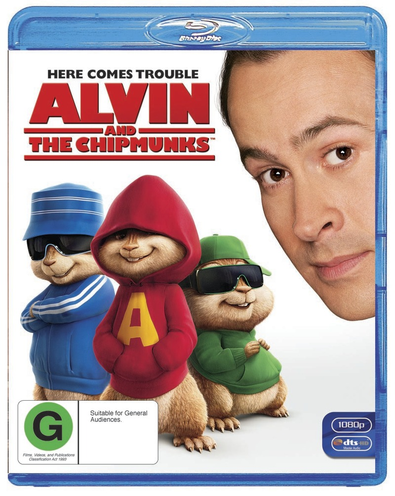 Alvin And The Chipmunks on Blu-ray image