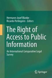The Right of Access to Public Information
