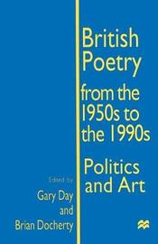 British Poetry from the 1950s to the 1990s image
