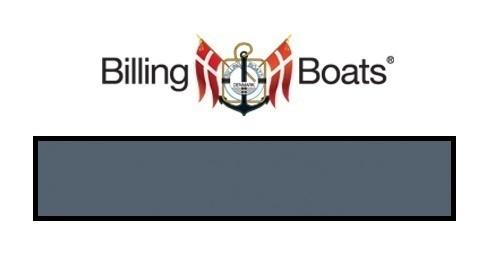 Billing Boats: Acrylic Paint - Dark AD Grey (22ml)
