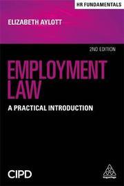 Employment Law by Elizabeth Aylott