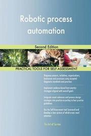 Robotic Process Automation Second Edition by Gerardus Blokdyk image