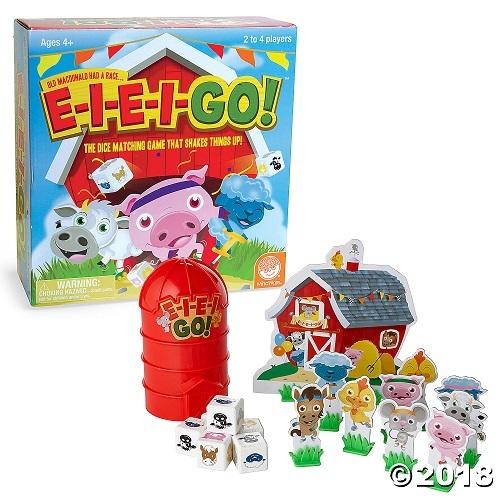 E-I-E-I-GO! - The Dice Matching Game