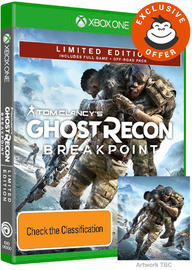 Tom Clancy's Ghost Recon Breakpoint Limited Edition for Xbox One