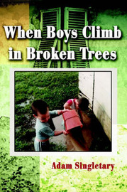 When Boys Climb in Broken Trees by Adam L. Singletary image